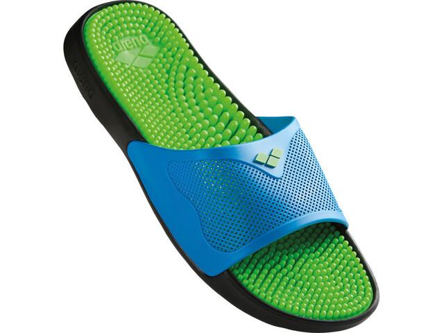 e456008368d arena Marco X Grip Hook - Chaussures de plage - vert bleu - Boutique ...